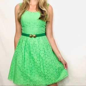 Lilly Pulitzer Posey Dress in New Green